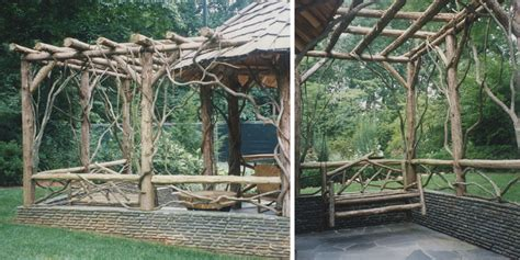 rustic garden structure difiore partners