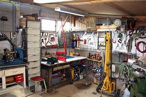 Rangement Outils Garage : atelier bien plein ~ Melissatoandfro.com Idées de Décoration