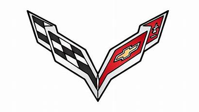 Corvette Chevrolet Chevy Drawing Emblem Stingray Draw