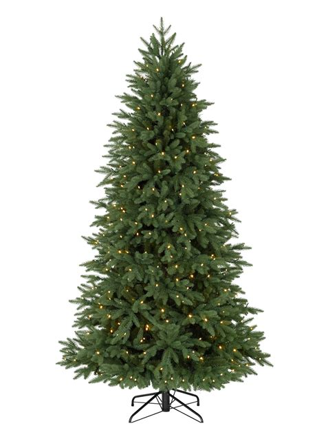 silverado slim artificial christmas tree balsam hill
