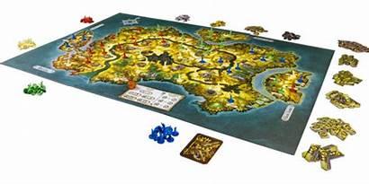 Borderlands Fantasy Board Flight Games Brettspiel Tabletop