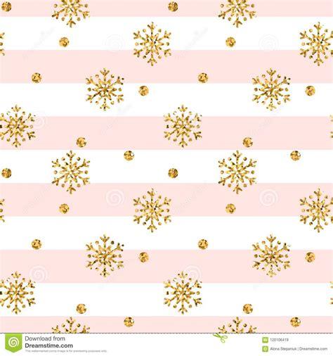 Background Gold Snowflake Seamless Wallpaper by Gold Snowflake Seamless Pattern Golden Glitter