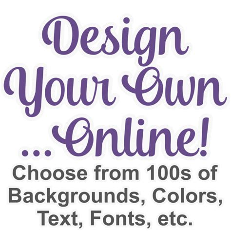 design your own design your own graphic decal custom sized personalized