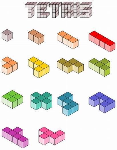 Tetris Blocks 3d Clipart Building Clip Block