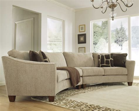 modern microfiber sectional sofa cole papers design