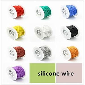 18 20 22 24 26 28 30 Awg Silicone Wires Electronic Wire