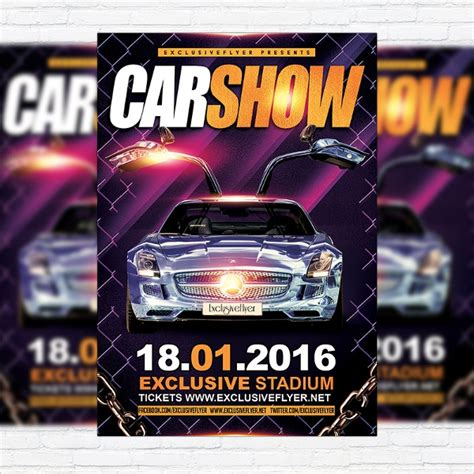 Show Template by 21 Car Show Flyer Templates Sle Templates