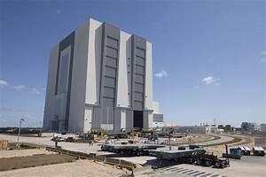 Work Platform Arrives at Kennedy Space Center for NASA's ...