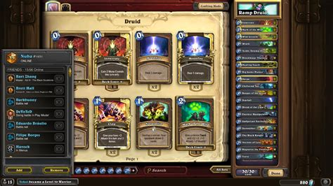 r druid deck hearthpwn nuba legendary druid r hearthstone decks