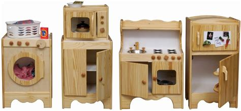 wood kids kitchen set   usa hand crafted