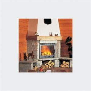 Vitre Insert Autonettoyante : foyer vitr feu continu de11 kw f70 fondis ~ Carolinahurricanesstore.com Idées de Décoration