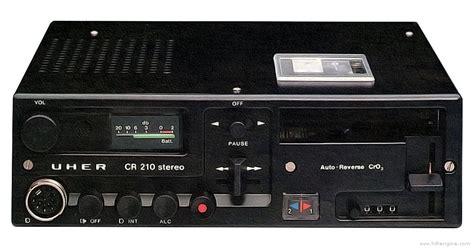 uher cr  manual stereo cassette deck hifi engine