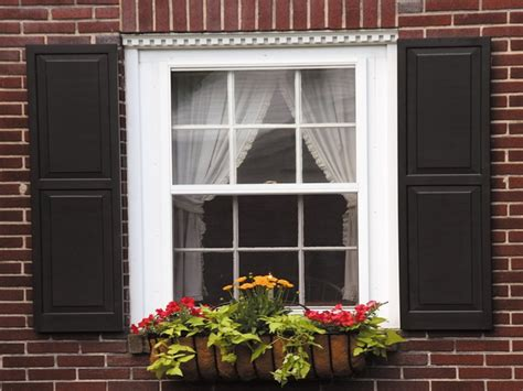 Exterior Window Shutters, Wood Window Shutters Exterior