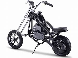Mototec 49cc Gas Mini Chopper Black