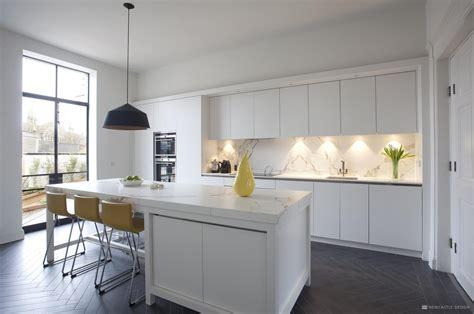 contemporary georgian kitchen  ireland  newcastle design