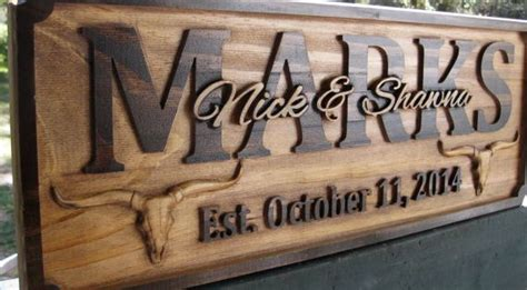 personalized family  signs texas farmhouse sign rustic