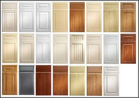 kitchen cabinet door designs kitchen cabinet door styles and shapes to select home