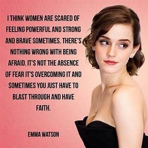 Famous Emma Wat... Emma Watson Beauty Quotes