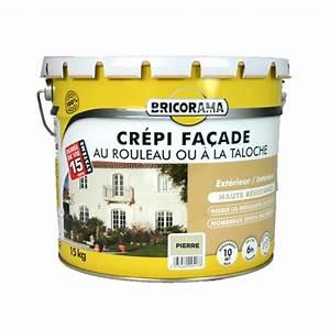 crepi bricorama exterieur interieur 15kg pierre peinture With peinture pour pierre exterieur