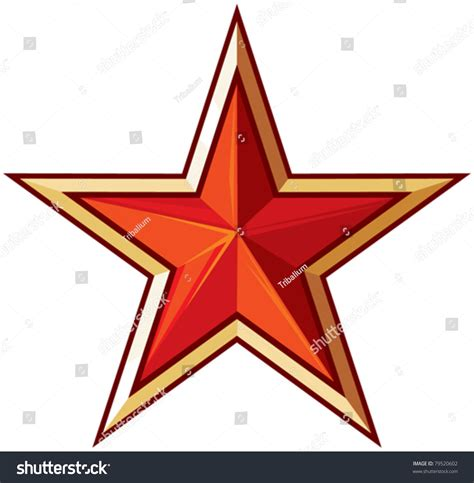 Soviet Star Stock Vector Illustration 79520602 Shutterstock
