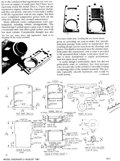 Книги о стирлигах и чертежи для изготовления . Двигатель стирлинга . ВКонтакте