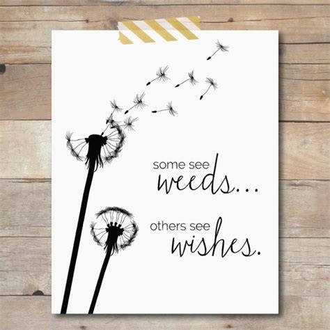 weeds   wishes  printable