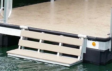Boat Swim Platform Bumpers by Custom Dock Systems