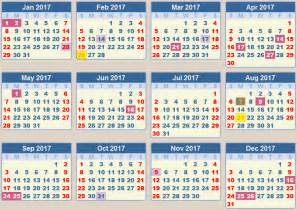 calendar 2017 school terms and holidays south africa