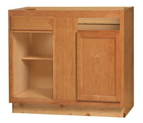 kitchen blind corner cabinet kitchen kompact chadwood 39bc oak blind corner base 5124