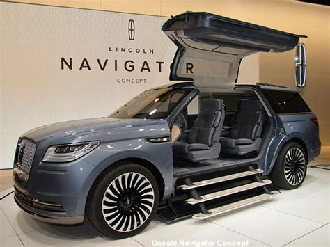 Lincoln Navigator Concept An Suv With Gullwing Doors And