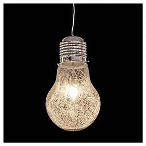 Pendant lighting bulbs : Bulb ceiling light blue ocean interiors
