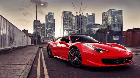 ferrari  italia bugatti veyron city cars