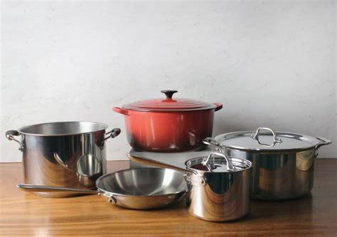 pans pots essential kitchen