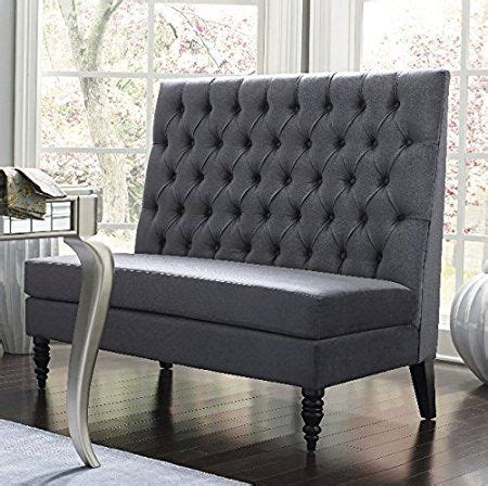 Settee Banquette by Silver Modern Banquette Bench Seating With