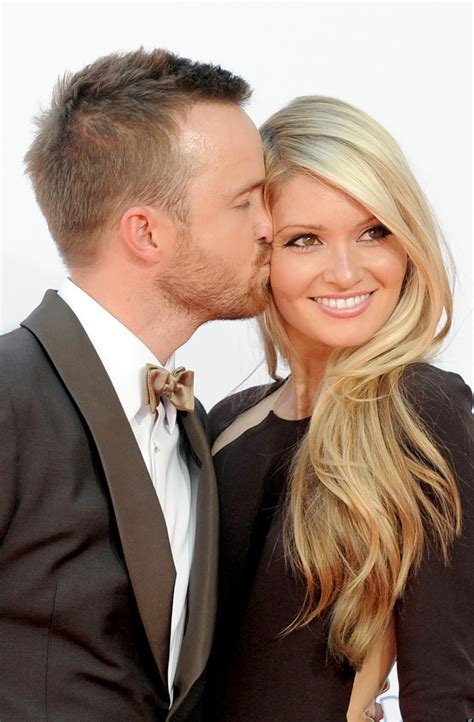 aaron paul quad aaron paul opines i m happy with my wife but don t