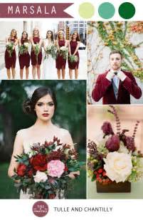 wedding colors pantone marsala wedding color combo ideas color of the year 2015 tulle chantilly wedding