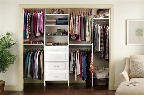 smart reach in closet designs solution for small bedroom