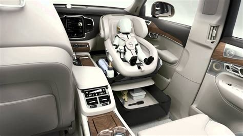 xc excellence child seat concept volvo cars youtube