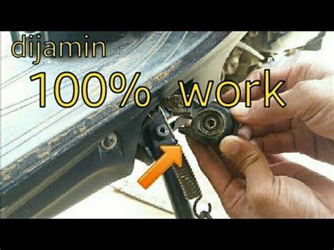 cara membuat kunci rahasia motor matic anti maling