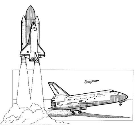 Space Shuttle Kleurplaat by Kleurplaten En Zo 187 Kleurplaat Spaceshuttle 1981