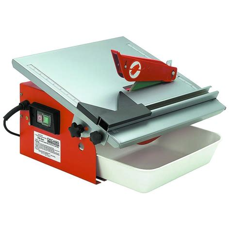 7 quot portable wet cutting tile saw all things glass