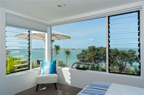 Kitchen Bay Window Nz by Renovation With Bay Views Using Breezway Louvres New Zealand