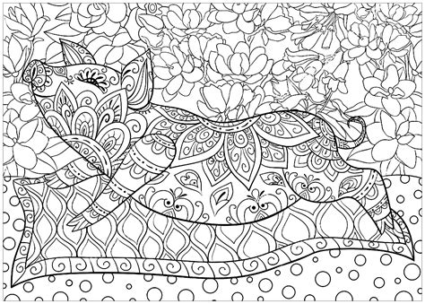 pig adult coloring book pig carpet flowers pigs adult coloring pages