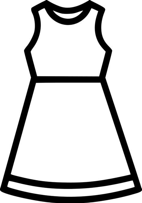 cloth dress fashion women tunics frock svg png icon