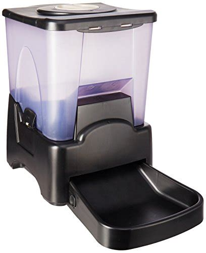 automatic pet feeder reviews oxgord automatic electronic timer programmable feeder