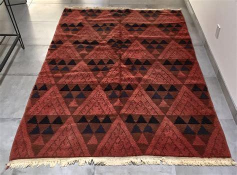 mid century modern rugs vintage mid century modern turkish area rug collectors