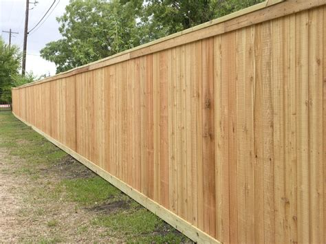 western states decking colorado western cedar privacy fence with 2x6 top cap 2x6