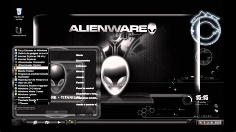 Alienware Titanium Windows 7 Theme 2013 Youtube