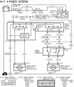 Ford Mustang Power Window Wiring Schematic