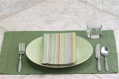 simple table setting for dinner how to set a table taste of home